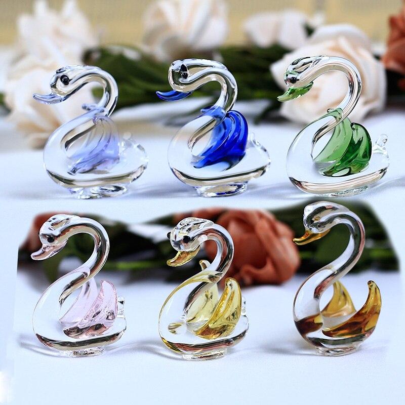 1 шт., декоративные кристаллы для украшения дома, 6 цветов