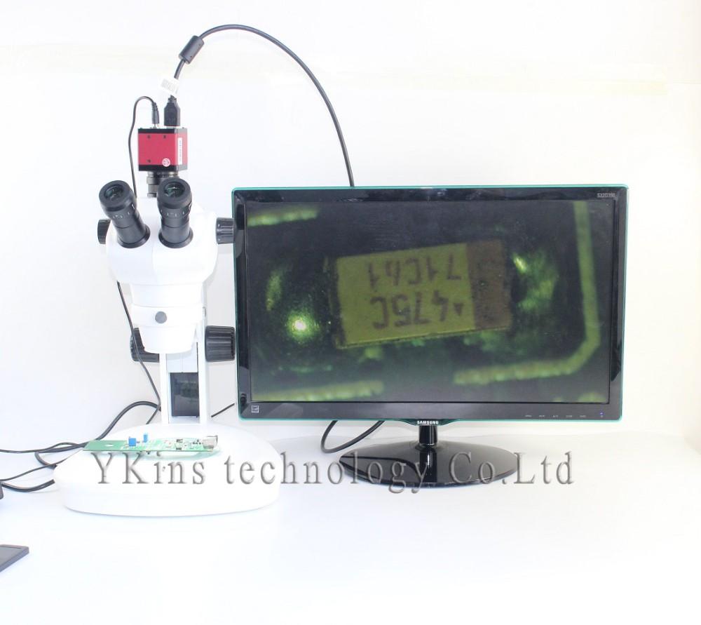 Купить Высокое качество Непрерывного масштабирования Тринокулярный визуальный 8-50X Зум Стерео Микроскоп XTL-0850 дешево