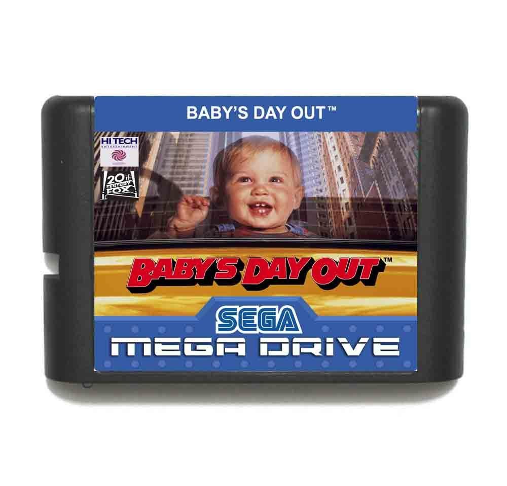 Babys Day Out Cart 16 bit MD Game Card For Sega Mega Drive For Genesis