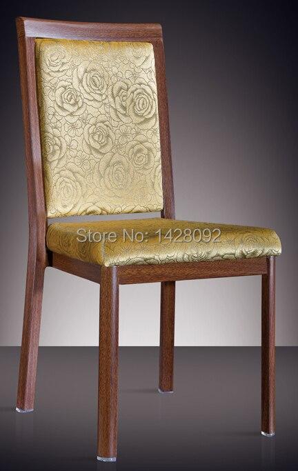Woodgrain Aluminum Dining Chair LQ-L808