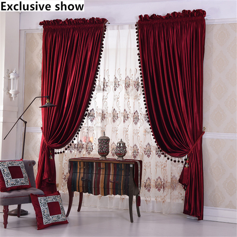 Exclusive Show New High Grade Thick Red Velvet Wedding