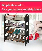 DIY shoe rack shoes include a very simple shoe rack installation multi layer plastic creative combination