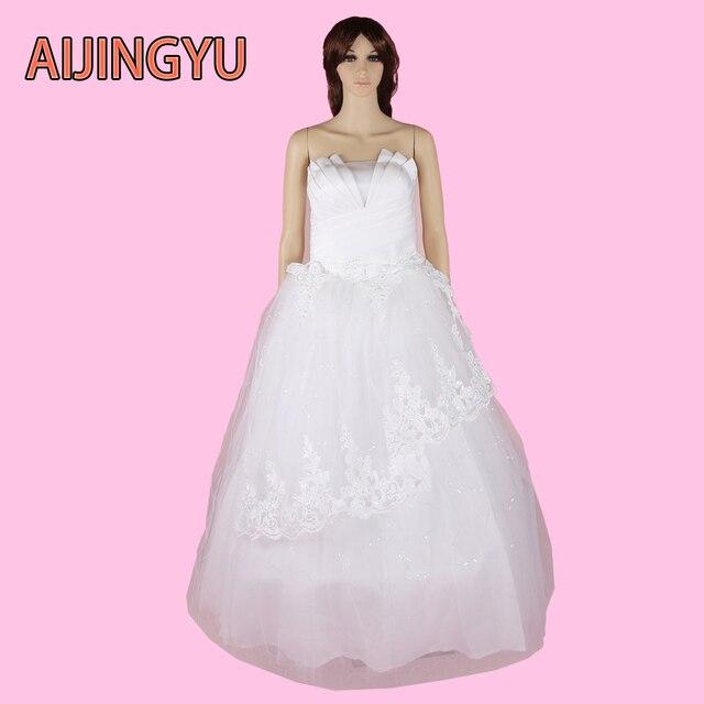 AIJINGYU 2017 envío libre nuevo vestido de boda simple romántico ...