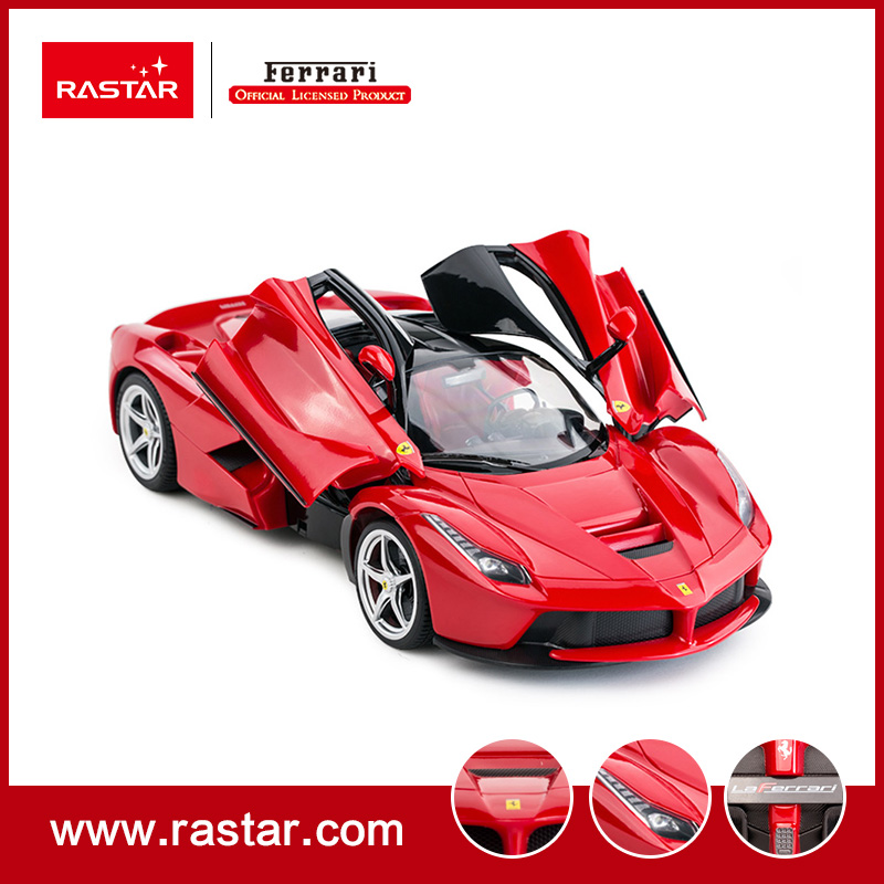 rastar licensed 114 ferrari laferrari intelligent rc car toys for kids remote control gasoline