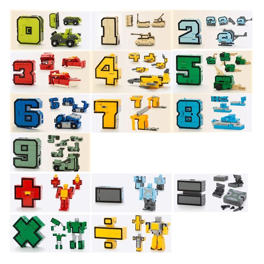 15pcs Building BlocksTransformation Robot 3