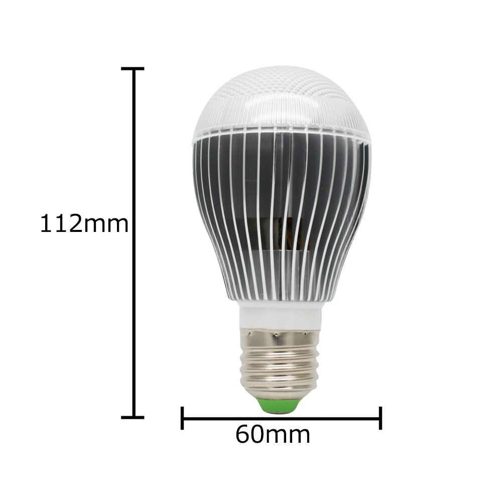 5 Watt Led Us 6 88 Rgb Multicolor Led Bulb 5 Watt E27 Includes Remote With 16 Colors Fits Standard Light Bulbs Socket Great For Stage In Led Bulbs Tubes