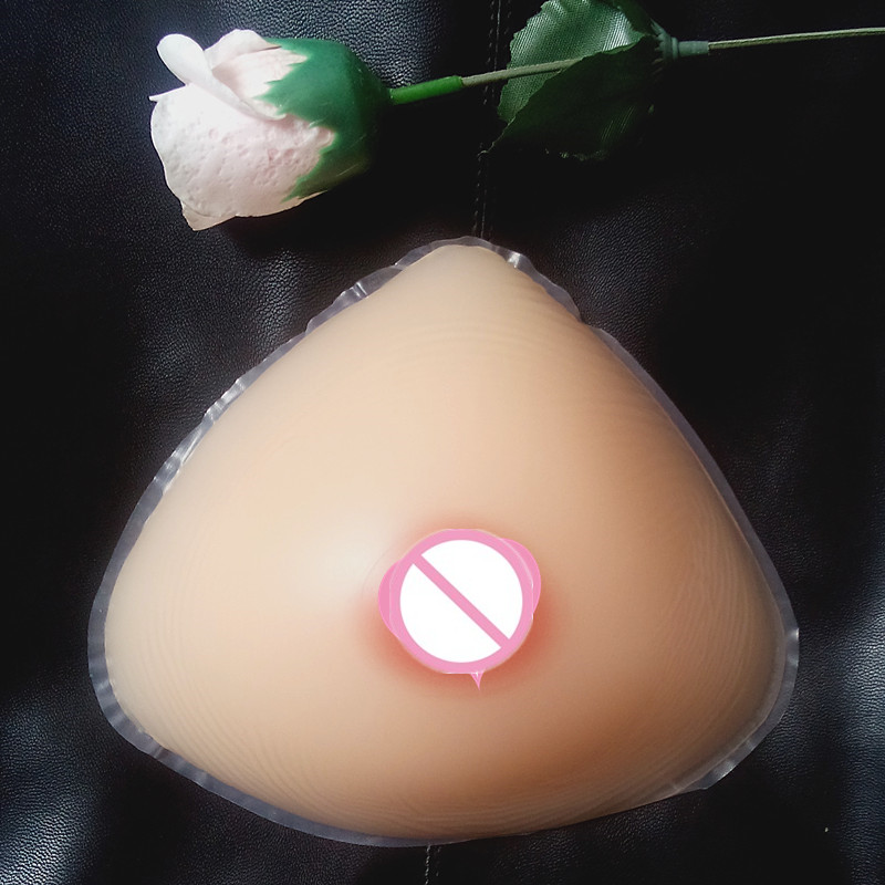 free shipping ,cheap hot selling silicone mastectomy breast forms bra hot sexi boobs 1400g  D/E cup for shemale cross-dresser
