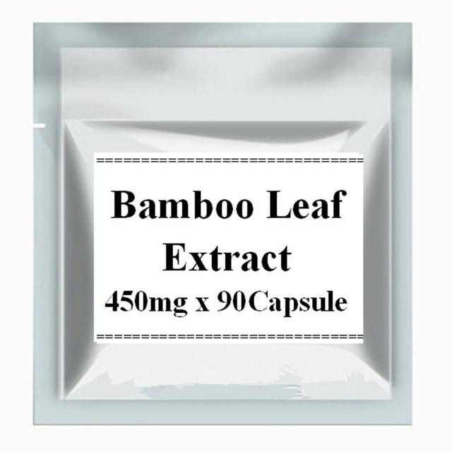 1 Paquete De Hojas De Bambú Extracto de la Cápsula de 450 mg x 90 Conteos envío libre