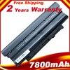 9cells 7800mAh Battery For Dell Inspiron 13R 14R 15R 17R 3550 N3110 N4010 N5010 N5020 N5030 N5040 N5050 N5110 M5030 N7010 N7110
