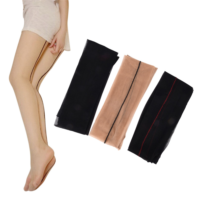 Stockings for Women Thin Sexy Stockings Female Black Skin Thigh High Stocking Ultra Thin Transparent Pantyhose