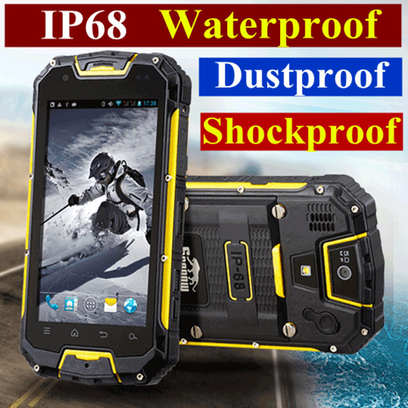 original Snopow waterproof phone M8C M8 cell mobile phone android smart ip68 rugged smartphone