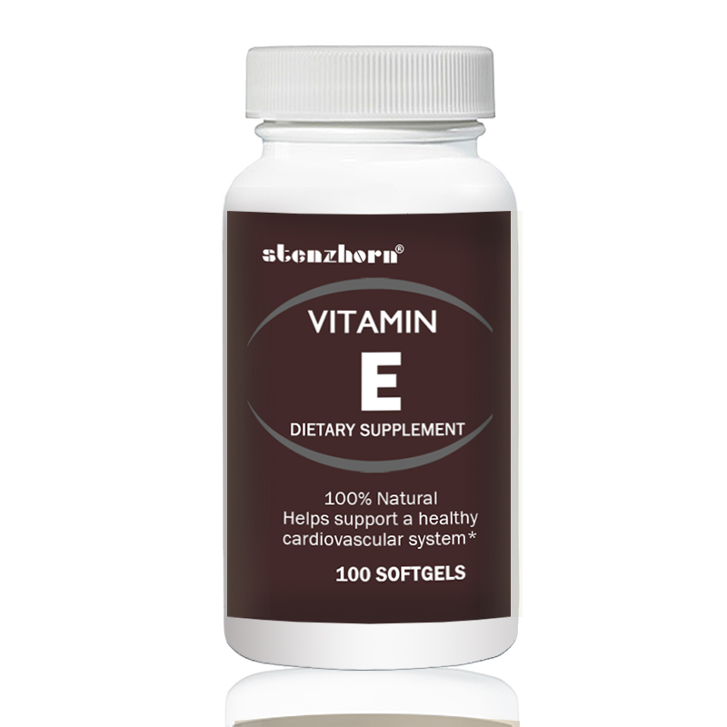 Vtamin E  400 IU  100pcs  Contributes To Healthy Skin And Immune Function