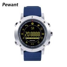 2018 Pewant Smart Watch 5ATM Professional Waterproof Bluetooth Smartwatch Metal Body Full