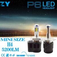 Led H7 H4 H8/9/11 HB3 9005 HB4 9006 9004 9007 55 Wát 5200Lm MZ LED Xe đèn pha Thay Thế Nguồn Ánh Sáng Đèn Pha