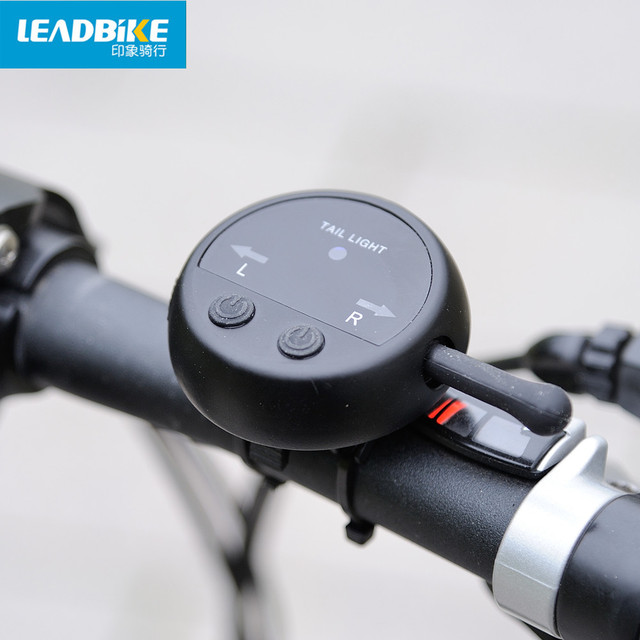 Leadbike 2016 64 LED Laser Bicycle Rear Tail Light USB Rechargeable With Wireless Remote Bike Turn Signals Safety Warning Light