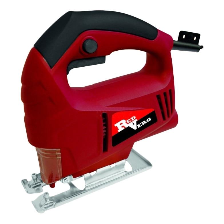 Jig Saw electric RedVerg RD-JS500-55 hammer drill electric redverg rd rh1500 power 1500 w drilling in concrete to 36mm антивибрационная system