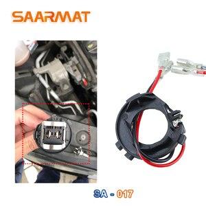 Image 2 - Saarmat 2 * Stuks Led H7 Auto Koplamp Lampen Houder Adapter Base Voor Volkswagen Golf 7 Nieuwe Touran Halogeen Upgrade om Led Socket