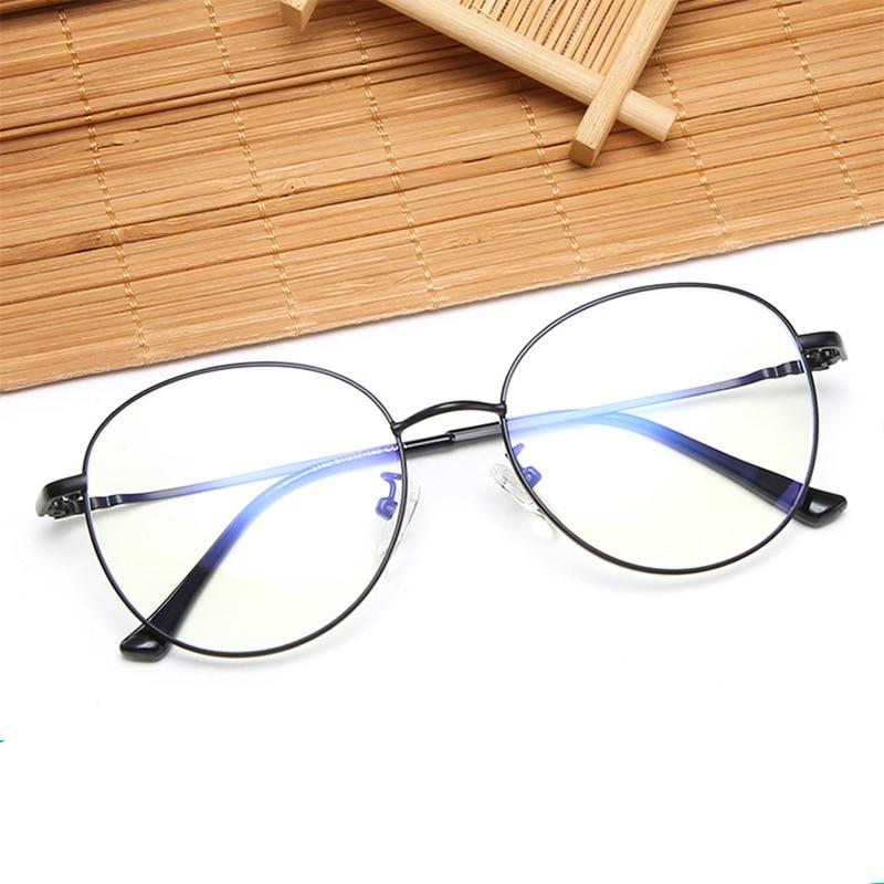 MARC NEW Women Glasses Frame Men Anti Blue Light Eyeglasses computer Vintage Round Clear Optical Spectacle
