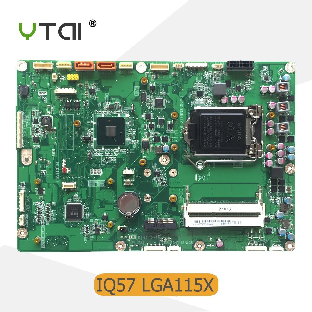 все цены на YTAI For Lenovo M70Z M90Z M92Z M9000Z AIO Motherboard IQ57 DA0QU8MB6I0 03T6428 Mainboard warranty 90 days онлайн
