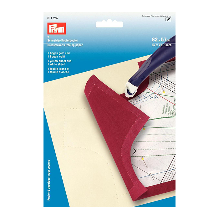 Germany Prym Cloth Copy Paper 611282, Dressmakers Tracing Paper, Patchwork Tool