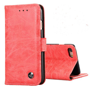 Image 1 - Luxury leather Flip Phone case for iphone 6 7 8 s plus iphone x magnetic wallet cases full cover dirt resistant with card Cash