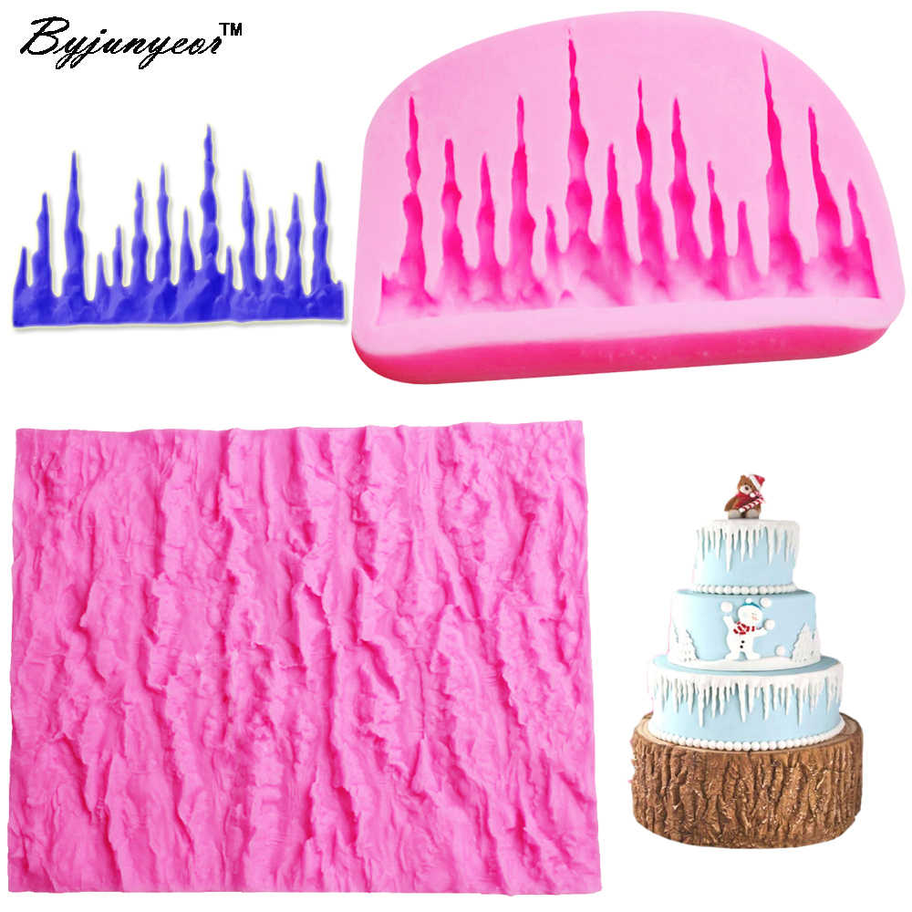 Tremendous Byjunyeor Tree Bark Uv Resin Silicone Mold Fondant Chocolate Candy Personalised Birthday Cards Veneteletsinfo