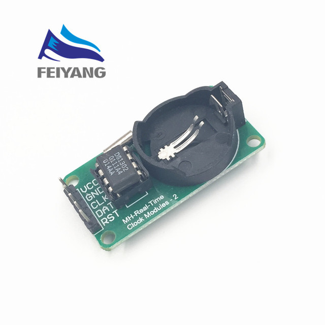 B10 1pcs SAMIORE ROBOT Smart Electronics DS1302 Real Time Clock Module Development Board Diy Starter Kit