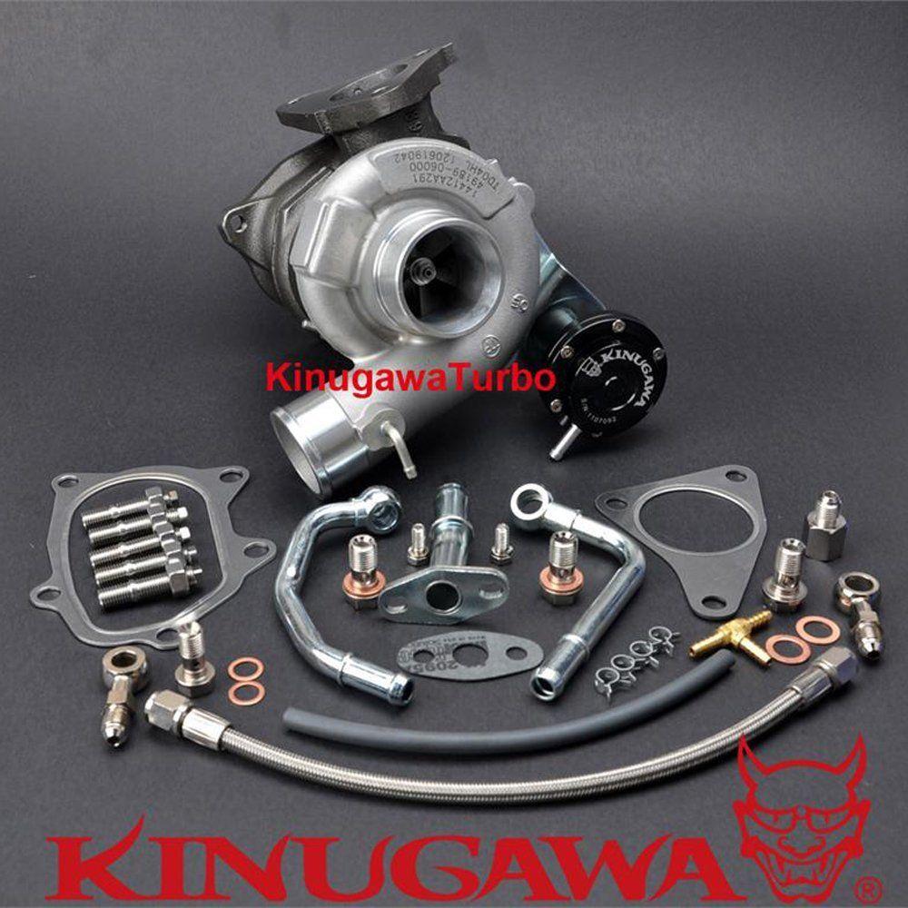 Kinugawa GTX Billet Upgrade Turbocharger TD04HL-19T 6cm for SUBARU IMPREZA Forester 58T EJ205 Bolt-On