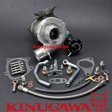 Kinugawa GTX Billet Upgrade Turbocharger TD04HL-19T 6cm for SUBARU IMPREZA Forester 58T EJ205 Bolt-On turbo cartridge chra for subaru forester impreza 1997 58t ej20 ej205 2 0l 211hp td04l 49377 04300 14412 aa360 turbocharger