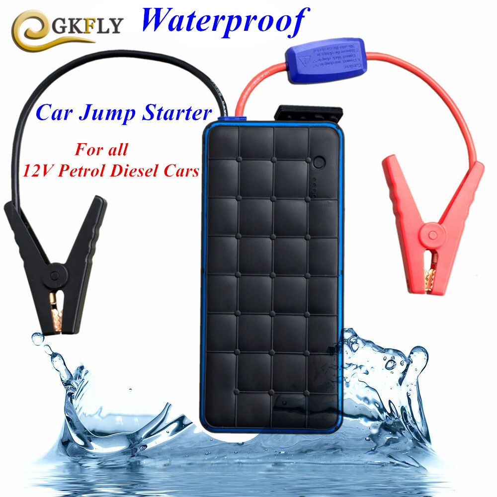 2018 Waterproof 28000mAh Car Jump Starter Portable 1000A Pack Car Charger For Car Battery Starting devices