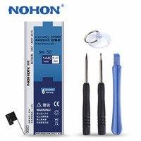 Originele nohon 1440 mah hoge capaciteit nieuwe batterij voor iphone 5 built-in vervanging batterijen met installatie gereedschap