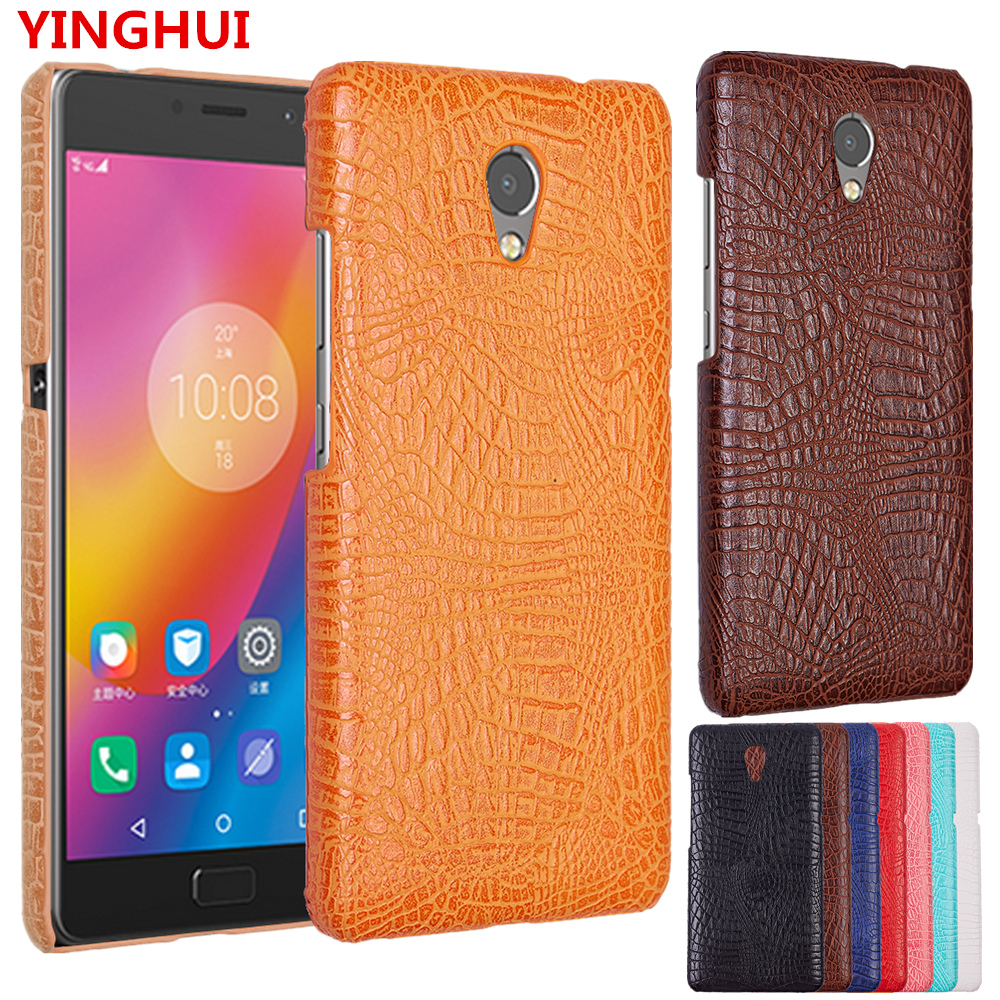 new concept f5a2c 71aa9 For Lenovo P2 Case Luxury Crocodile pattern PU leather Case For Lenovo VIBE  P2 P2c72 P2A42 5.5inch fashion Phone Case Back Cover