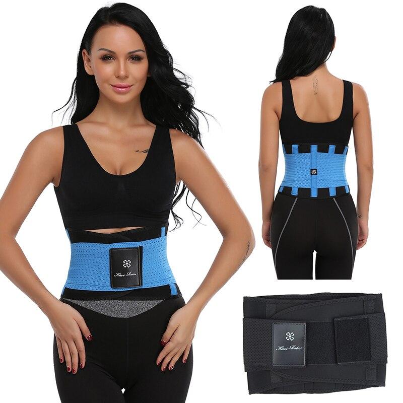 Las mujeres Xtreme Power cinturón caliente para adelgazamiento de cuerpo Shaper cintura entrenador Trimmer Fitness corsé barriga Control fajas estómago zapatillas