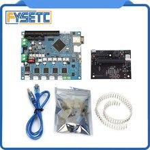 משובט דואט 2 Wifi V1.04 DuetWifi מתקדם 32 קצת אלקטרוניקה + PanelDue מחובר לוח עבור BLV MGN קוביית 3D מדפסת CNC מכונה