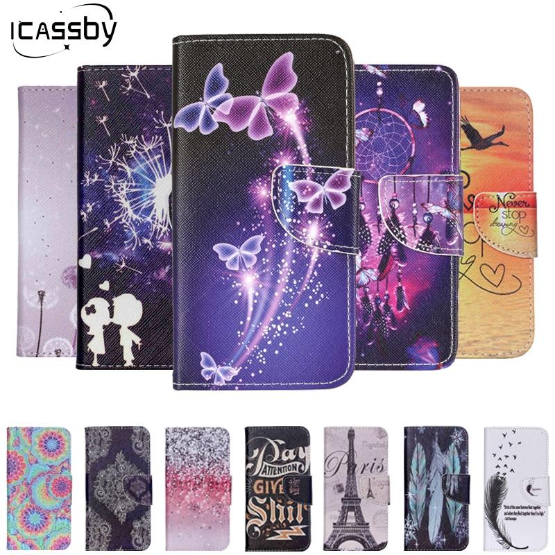 Lyxigt läderfodral för iPhone 7/7 Plus plånbok Flip Cover - Reservdelar och tillbehör för mobiltelefoner - Foto 1