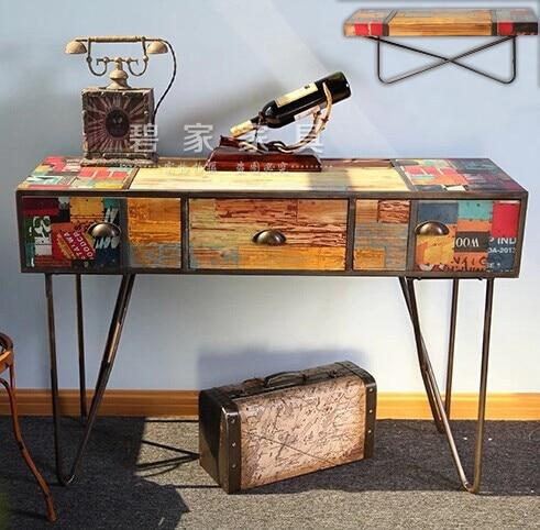 Retro Vintage Console Table Decoration