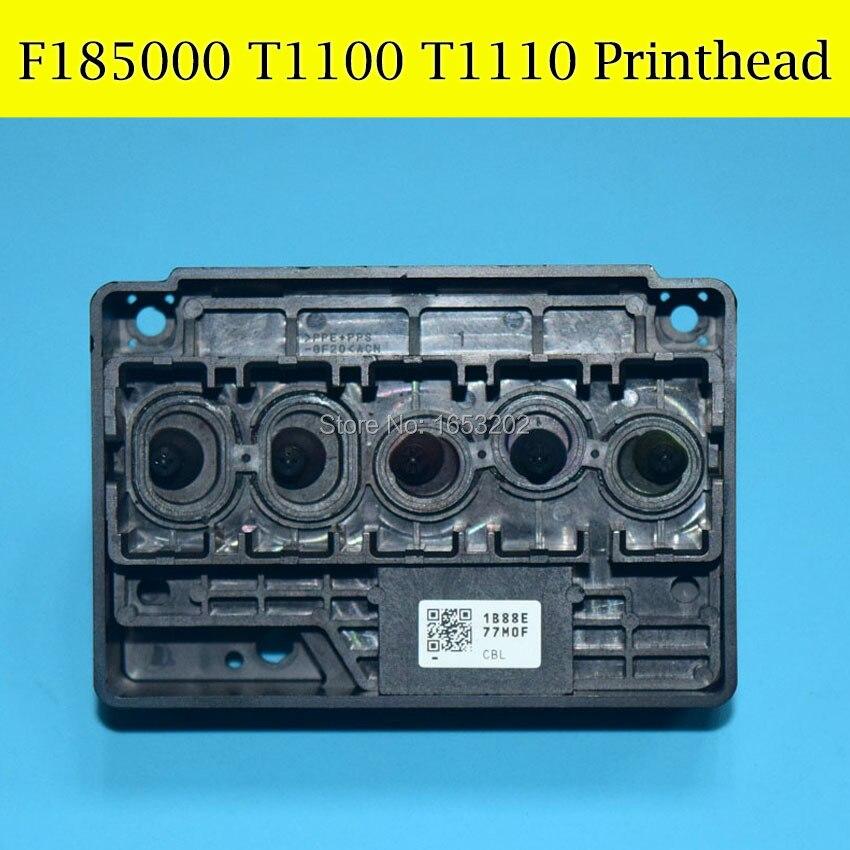 1 PC Original Print Head F185000 For EPSON T1110 T1100 C120 T30 T33 C110 Printhead brad new original print head for epson wf645 wf620 wf545 wf840 tx620 t40 printhead on hot sales