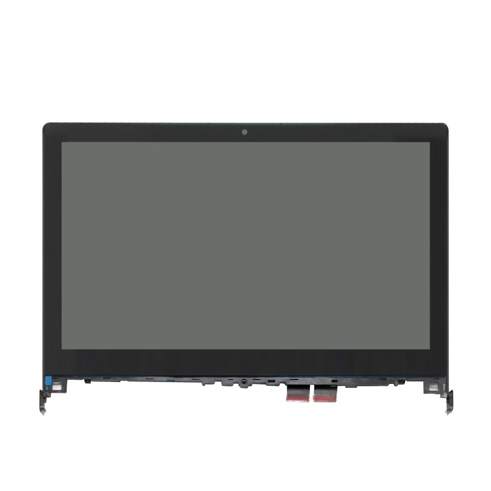 Black color for <font><b>LENOVO</b></font> <font><b>FLEX</b></font> <font><b>2</b></font> <font><b>14</b></font> 14D Assembly Display LCD +<font><b>Touch</b></font> <font><b>Screen</b></font> Digitizer with frame 1920 x 1080 image