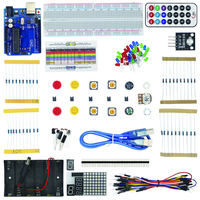 New Basic Starter Kit For Arduino For UNO R3 Basics Broad Remote Control Resistance Module Robot