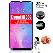Полный Клей полное покрытие из закаленного стекла для Xiaomi Mi CC9 протектор экрана Защитная пленка для Xiaomi Mi CC9E стекло