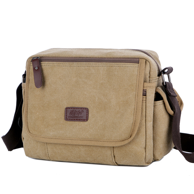 купить Urban Daily Carry Bag Vintage Men's Messenger Bags Canvas Shoulder Bag Casual Men Business Book Crossbody Bag Travel Handbag недорого