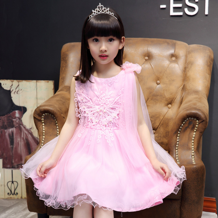 New Arrival Princess Girl Dress Party Wedding Birthday Kids Tutu Dress For Girls Dresses Clothes Summer 2017 Robe Fille Enfant unisex irregular long t shirt for bjd doll 1 6 yosd 1 4 msd 1 3 sd10 sd13 sd16 sd17 uncle luts dod as dz sd doll clothes cwb7