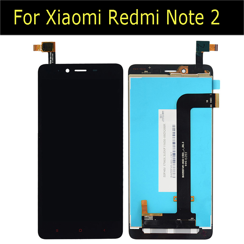 LCD Display + Touch Screen Digitizer Assembly Replacements For Xiaomi Redmi Note 2 replacement screen
