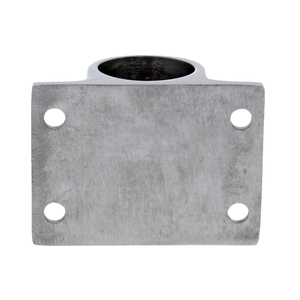 Image 4 - Accesorios de barandilla de acero inoxidable 316, accesorios de barandilla de 90 grados, soporte rectangular, soporte marino para tubería de 25mm