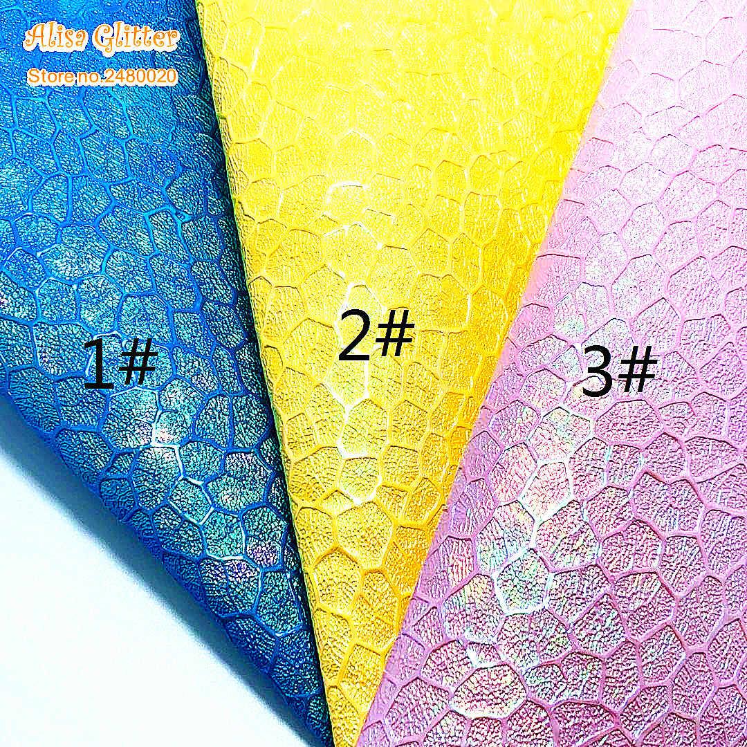 1 cái A4 KÍCH THƯỚC 21X29 cm Alisa Long Lanh Cuero Sintetico Da Tổng Hợp Óng Ánh Da cho DIY E04B
