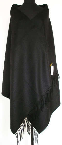 Зима Горячие Черный Для женщин шерстяная накидка Кашемир пашмины сплошной Цвет шарф шаль негабаритных 180*72 см - Цвет: black