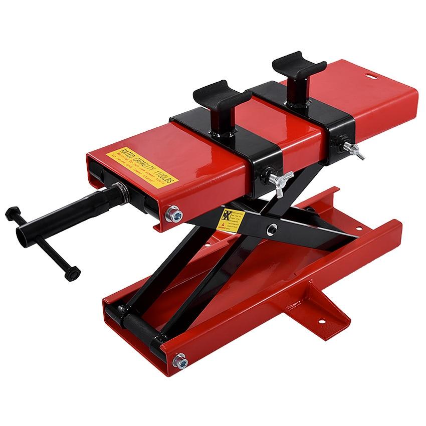 500 kg Ciseaux Palan Vérin De Levage Grues Moto Réparation Stand Center palan De Levage à Ciseaux Atelier Banc Outil De Levage (450 * 150mm)