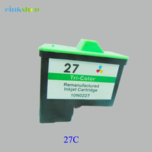 Einkshop Ink Cartridge For Lexmark 27 i3 X1100 X1150 X1270 X2250 X75 Z13 Z23 Z34 Z515 Z517 Printer
