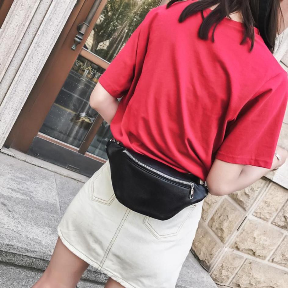 Bag Belt Bag Fanny Pack For Women Waist  Bag Money Belt Chain Leather Shouler Bags  Waist Pouch Purses Female  ##