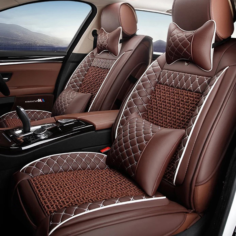 leather car seat cover for citroen c3 xr c4 cactus c2 c3. Black Bedroom Furniture Sets. Home Design Ideas